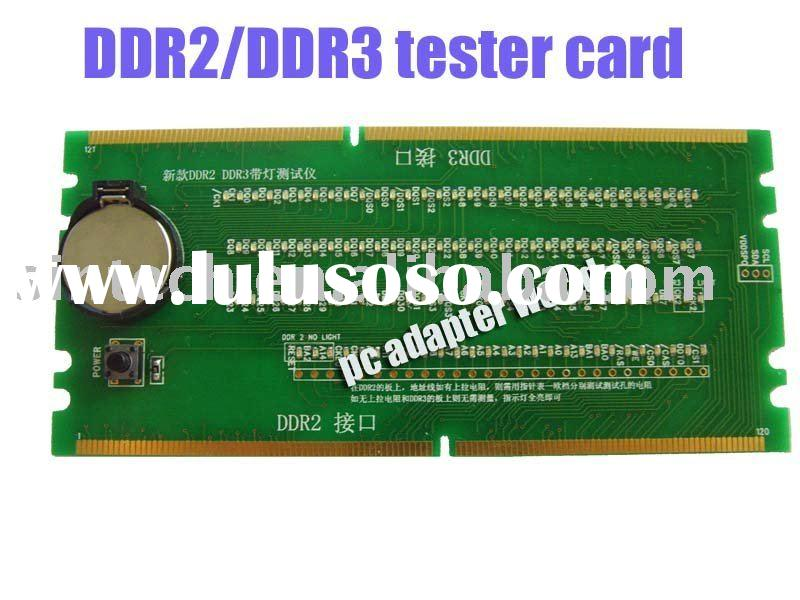 PC Desktop Mainboard Board DDR 2/DDR 3 RAM Memory Slot tester