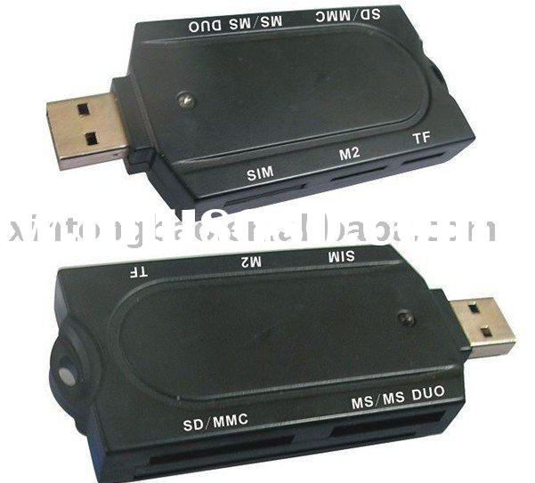 PC/SC USB2.0  Memory Card & smart &ATM Card Reader