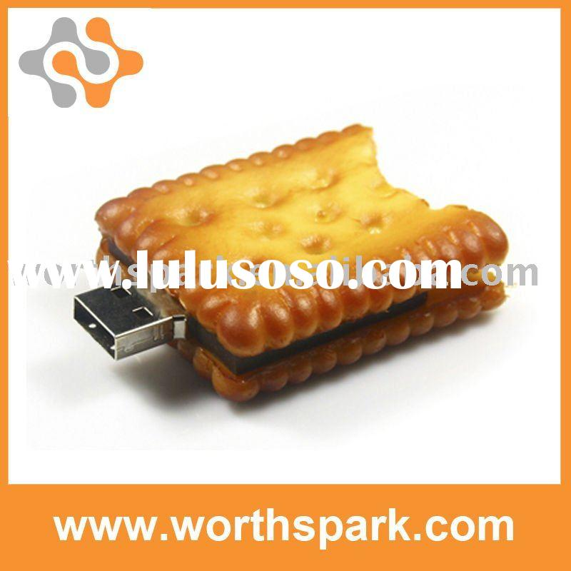 biscuit shape 2gb usb memory stick