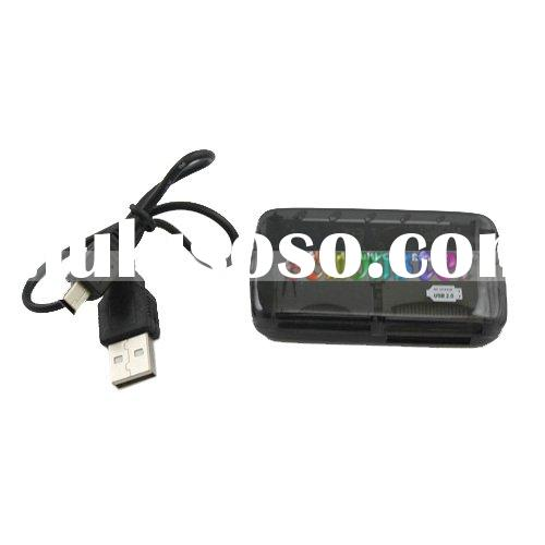 All In 1 USB Memory Card Reader Writer SD MMMC CF MS