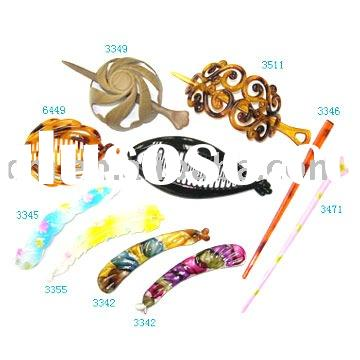 Fashion plastic hair accessories