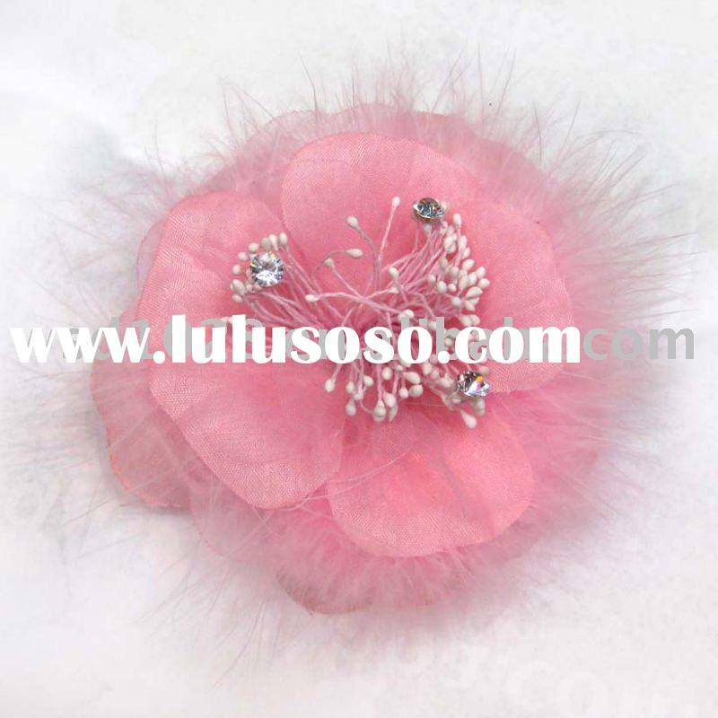 Feather Flower,Hair accessory