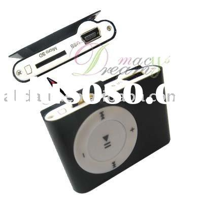 MINI Clip MP3 Player Support 1GB 2GB Micro SD/TF Card (DQ36)
