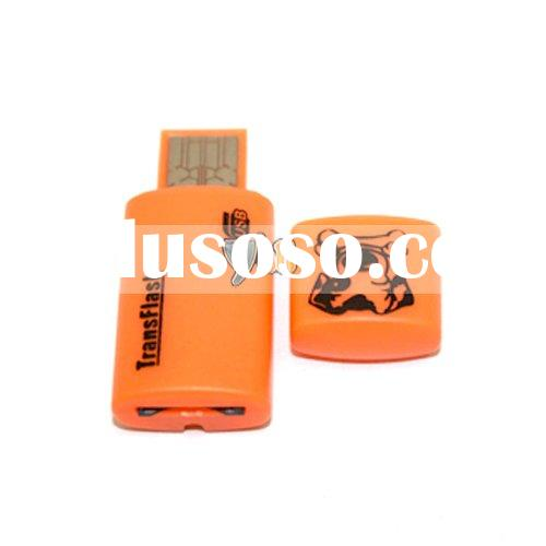 Mini USB Micro SD T-Flash TF Memory Card Reader Writer