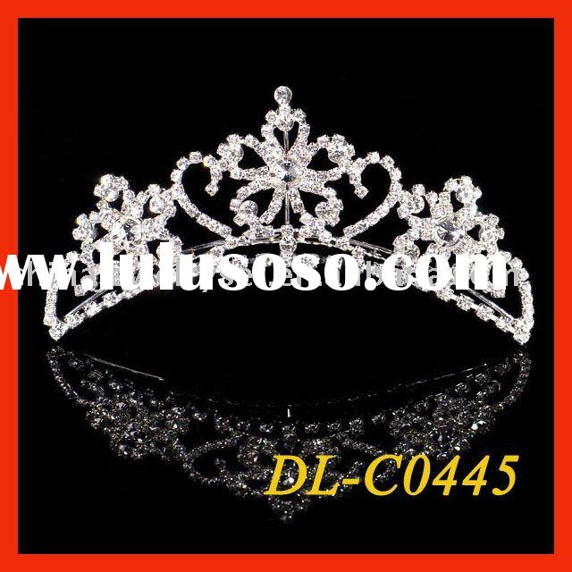newest style wedding bridal tiara,diamond tiara,rhinestone crown