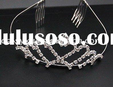 wholesale crystal wedding bridal tiara