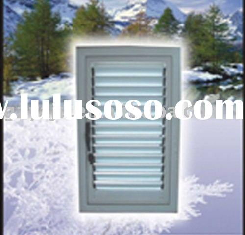 Al-wood,inwards&tilting-in open window(can install dynamoelectric shutter)