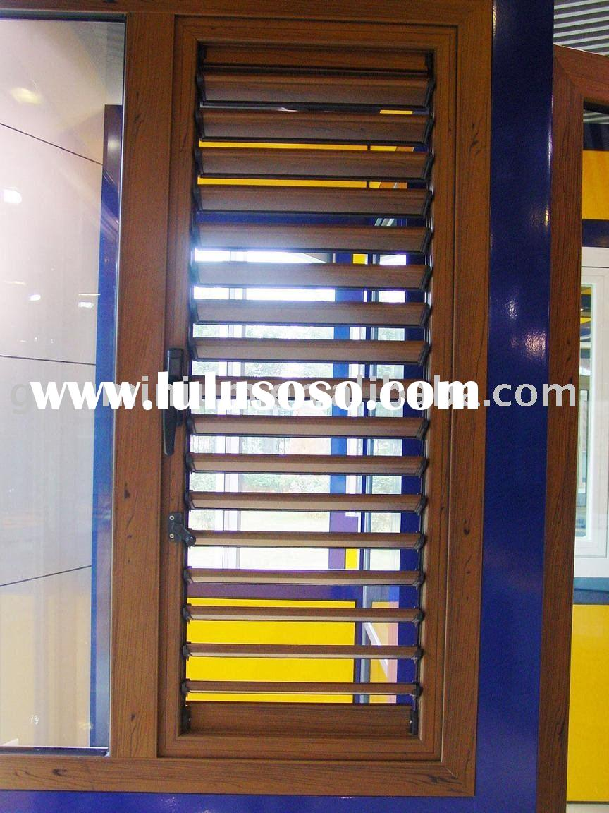 Series 49 aluminium manual roller louver /shutter /blind/shade window