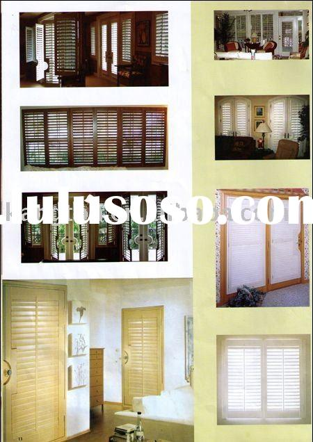 Outdoor Shutters - Louvered Doors