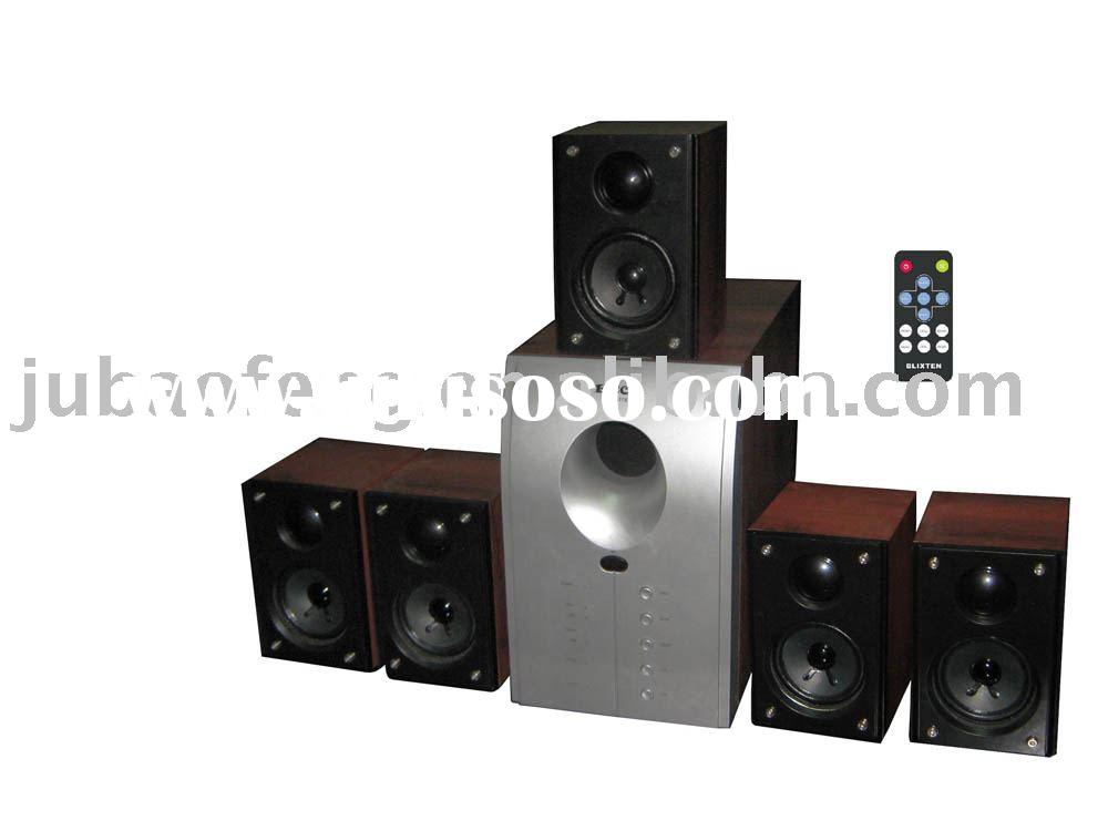 3D surround sound speaker system
