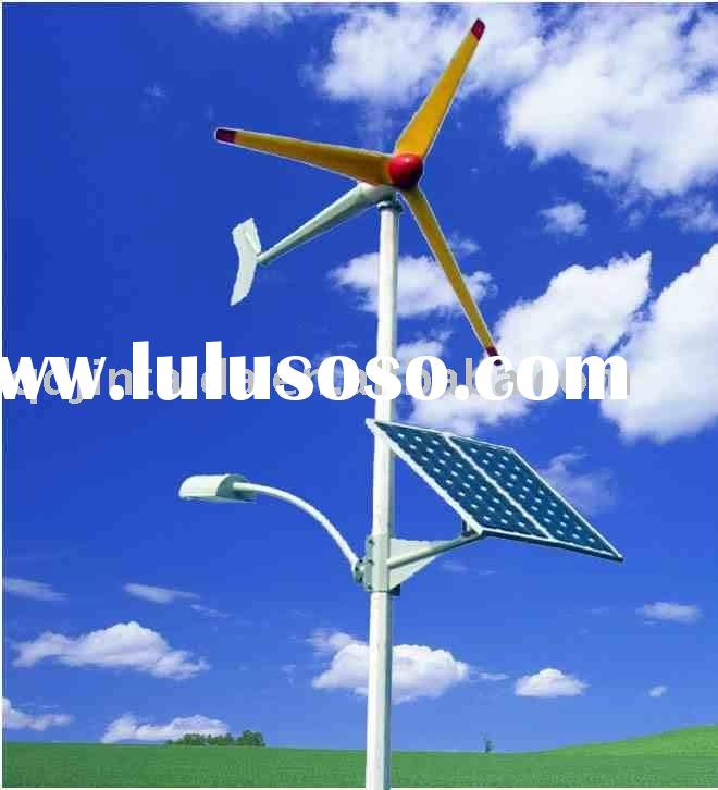 600W   wind and solar hybrid wind turbine system