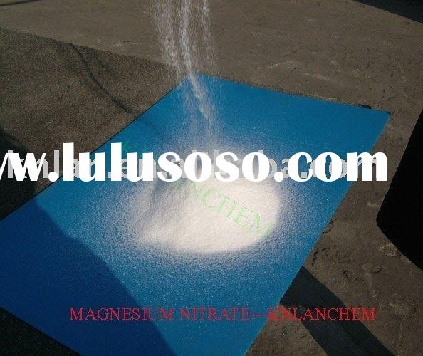Magnesium Nitrate Fertilizer  with anti-caking agent (11-0-0 MgO:15%)