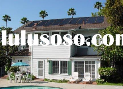 Project solar water heating system Swimming pool solar collector