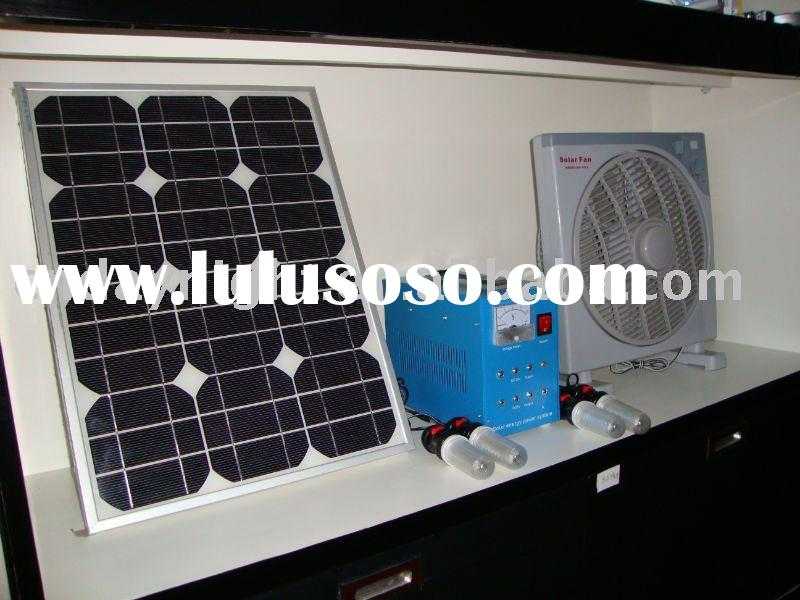 Solar energy System with Monocrystalline Silicon Solar Panel