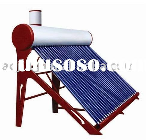 integrated pressured solar water heater  home solar power system