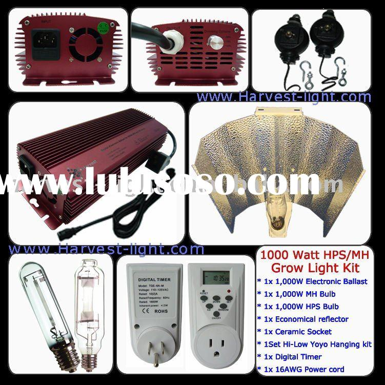 1000W energy saving HPS/MH Grow light kit system for hydroponics light /garden light/ indoor light