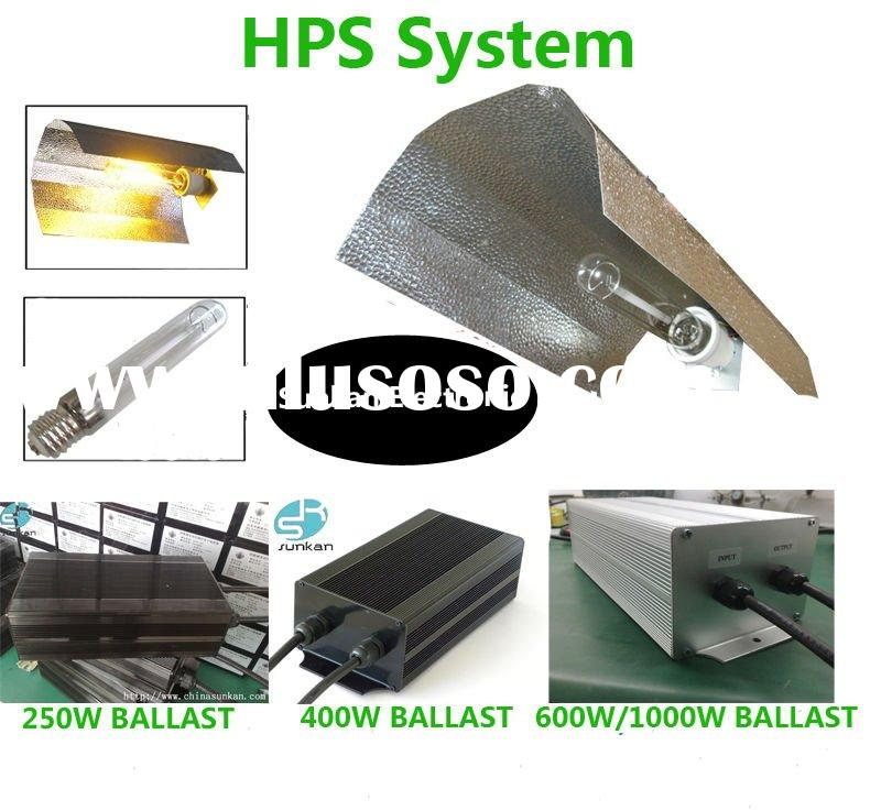 250W,400W,600W,1000W,HPS lighting Systems for Hydroponics.110-250V.CE,UL,TUV,ROHS,DIN approved