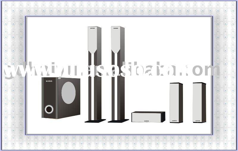 5.1 wireless speaker surround system