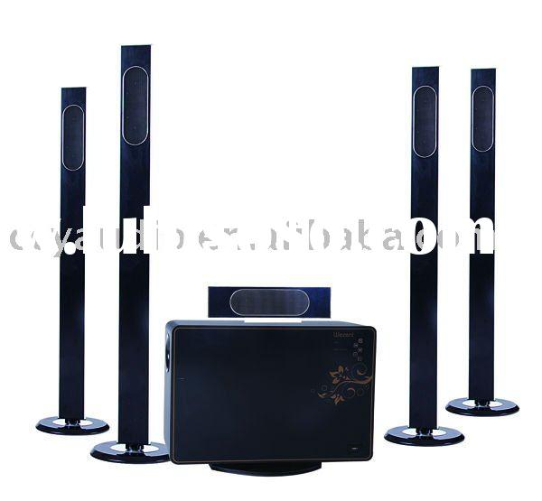 CY-2012  5.1 Channel Cinema System /Home Theater Speaker