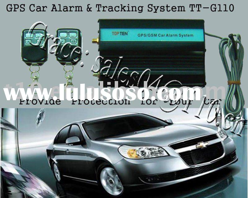GPS Car Alarm & Tracking System