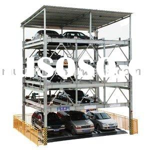 Genuine CE PSH Rotary Parking Replacement Lift and Slide Mechanical Car Parking Elevator System