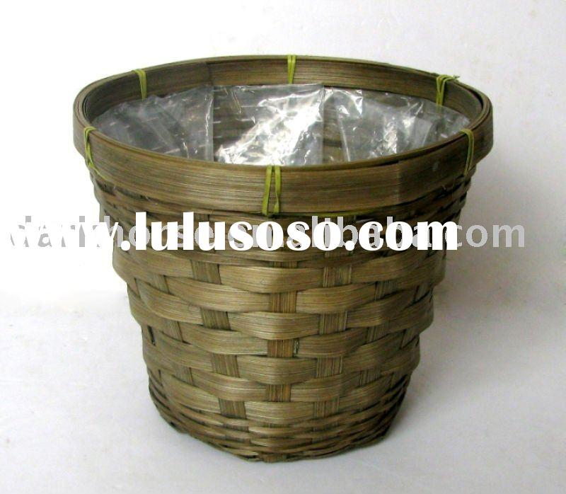 Indoor Bamboo Plant Pot