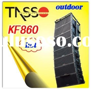 Outdoor Line Array Loudspeaker, professional audio speaker, pa system