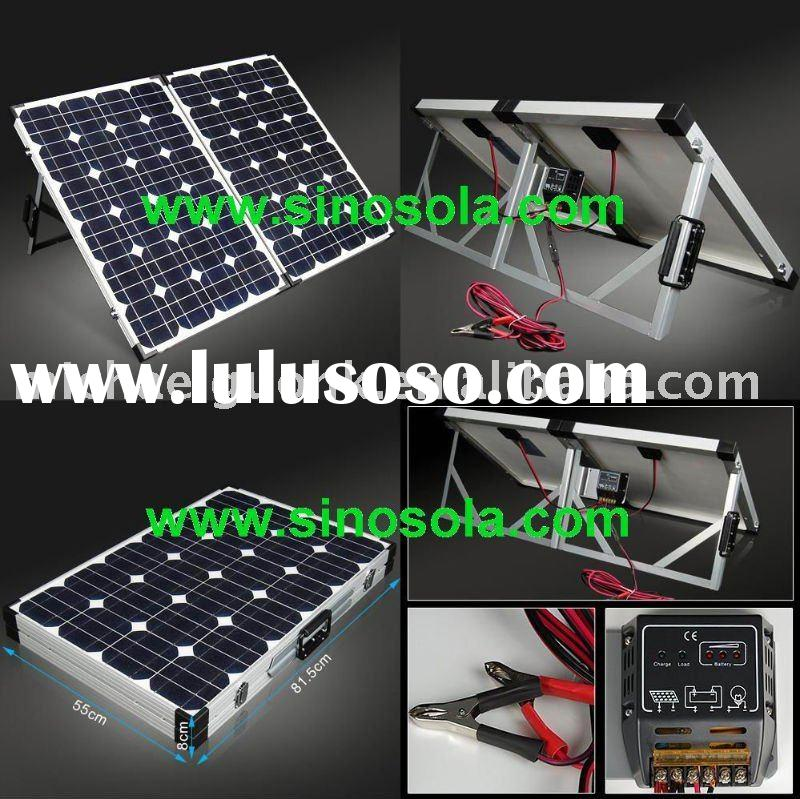 Portable solar power system kits