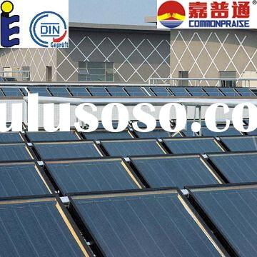 Solar collector system, Solar water heater system