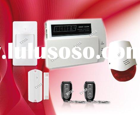 Vstar Security zone alarm home page Wireless Alarm System