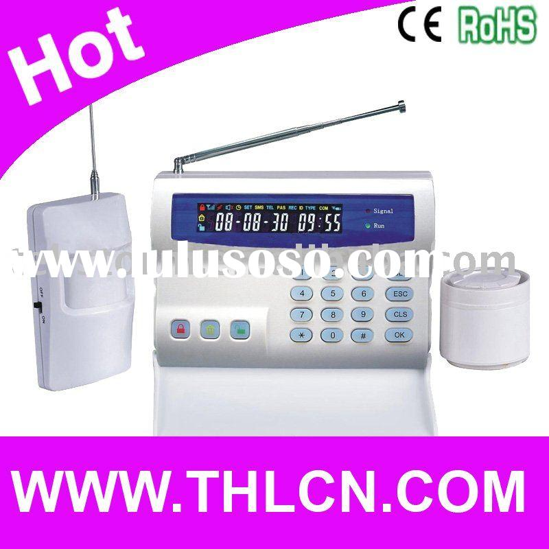 Wireless GSM Alarm System With SMS Alert
