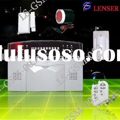 Wireless Home GSM auto-dial  Alarm System(LS-GSM-003)