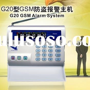 Wireless Security Alarm System With Backup Battery