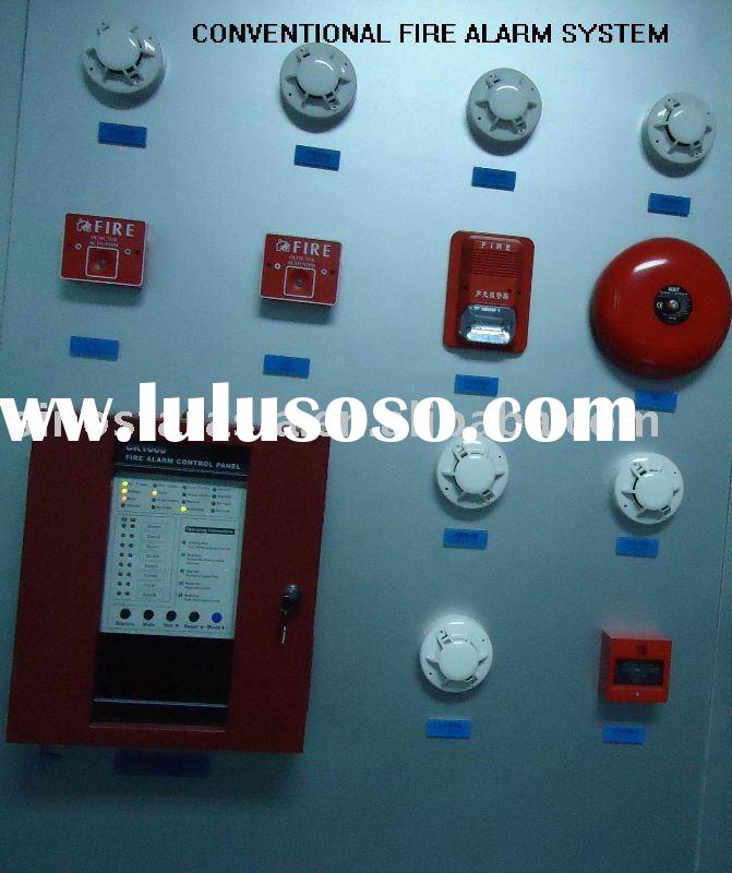 conventional fire alarm system and control panel 8 zones