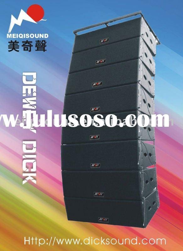 "double 12"" Line array system  large speaker L-12"