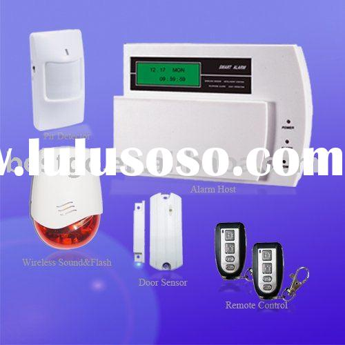 home fire alarm system with wireless sound&flash