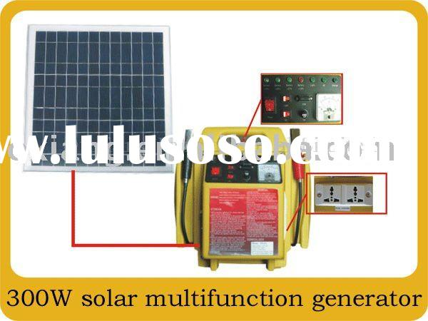 solar home system -Supply generator:200W,300W,500W.solar panels:20W,30W,40W