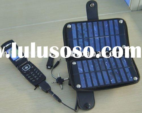 solar mobile charger bag,multi-function  charger kit, solar power charger bag