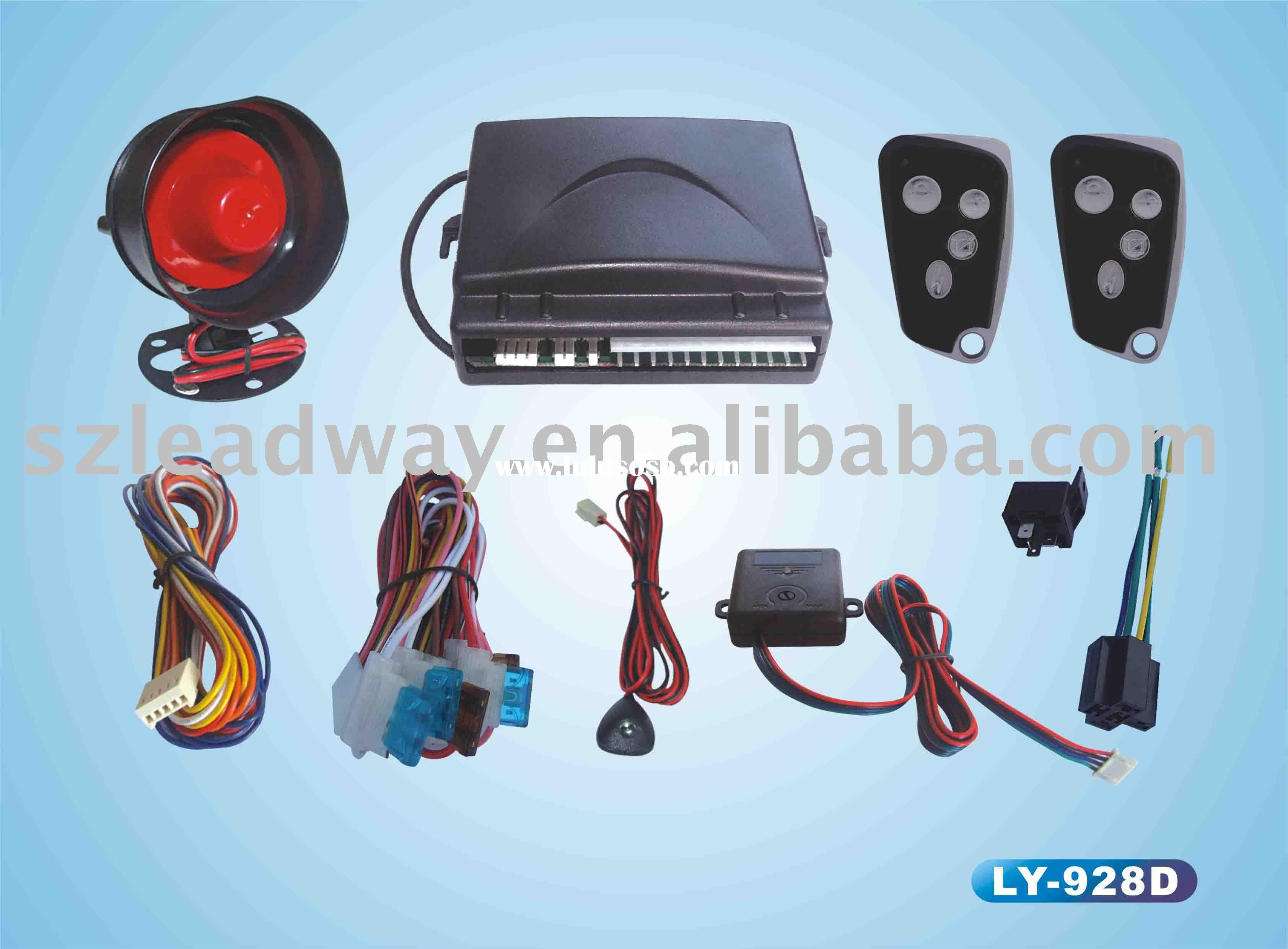 stable quality one way car alarm system LY-928 easy installation