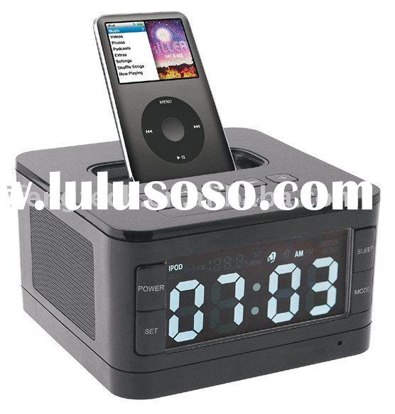 stereo speaker system docking station for iPod/iPhone