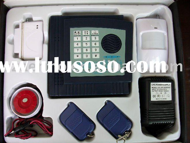 wireless intelligent burglar alarm system,auto dialer,zone alarm kit,security product