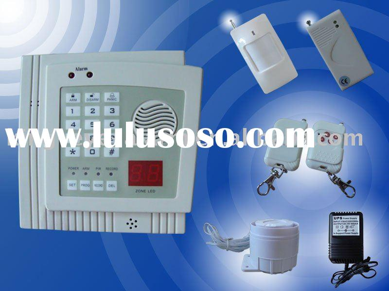 wireless security alarm systems kit