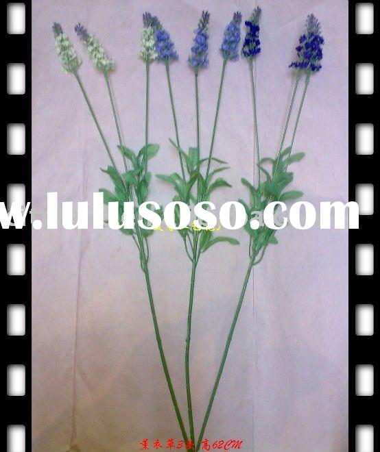 Artificial flower/artificial plant--Silk Lavender--purple/green/pink/red