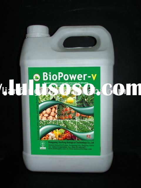 Liquid Spreaders fertilizer with Organic seaweed extract concentrate