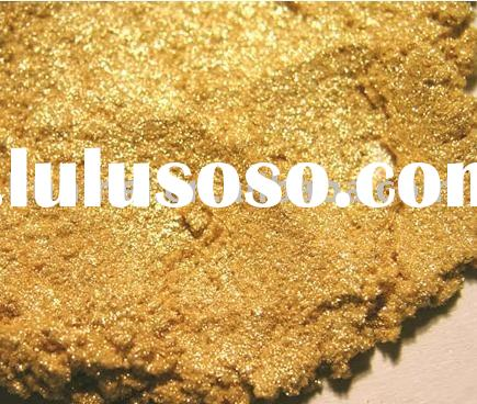 Pearlescent Pigment / Pearl Luster Powder / Paint Pigment / Pearlescent Pigment / Sunny Gold KM351