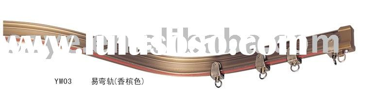 YW Flexible  Curtain Rail/Track