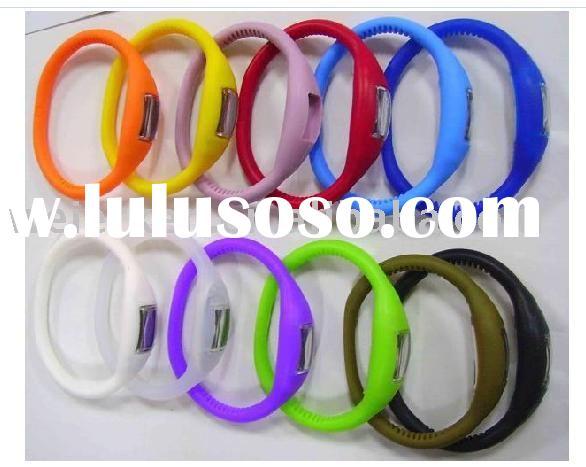 custom silicone watch,personalized silicone watch,ionic silicone watch bracelet(good for health)
