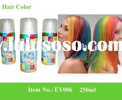 hair spray color