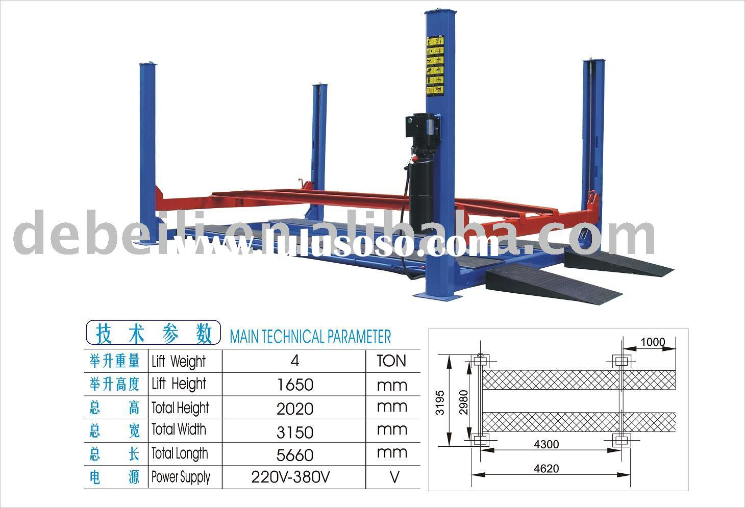 4 post lift for car repair