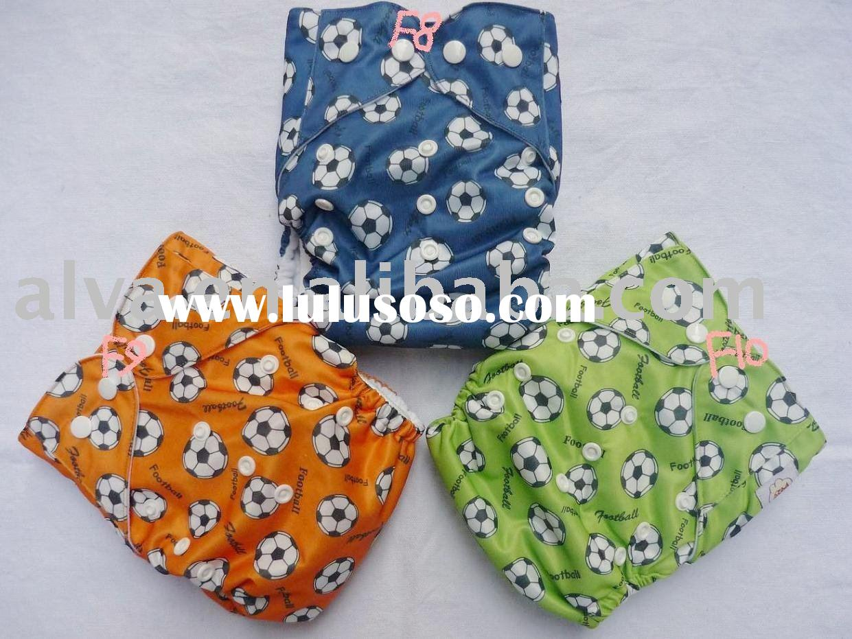 ALVA  FREE SHIPPING printed reusable baby cloth diapers